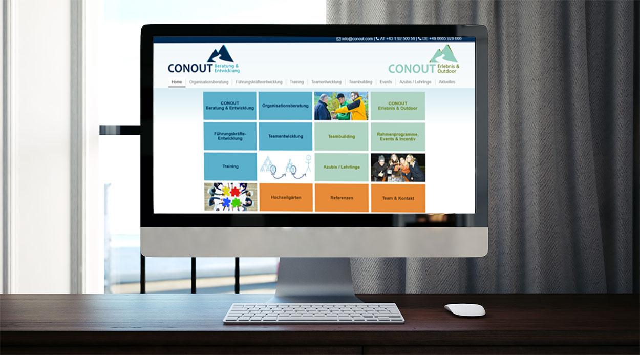 Conout GmbH, Referenz Dieter Biernat, Web-Design Graz