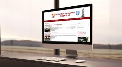 Webdesign aus Graz von perfect:net, Dieter Biernat, feuerwehr-thondorf.at