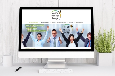 Webdesign aus Graz von perfect:net, Dieter Biernat, office-massage.at