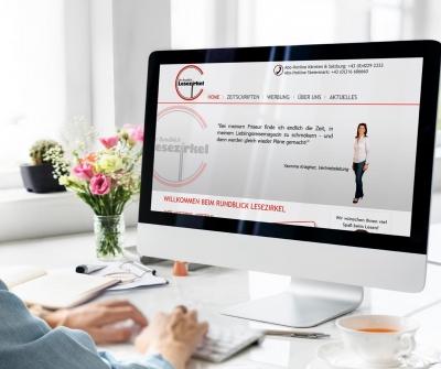 Webdesign aus Graz von perfect:net, Dieter Biernat, rundblick-lesezirkel.at