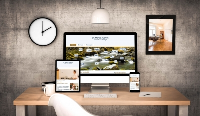 Webdesign aus Graz von perfect:net, Dieter Biernat, urologe-auprich.at