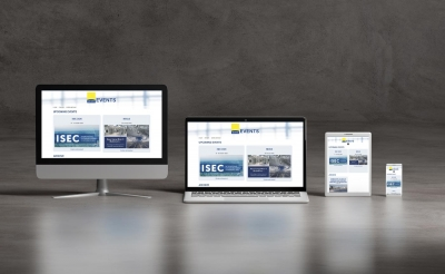 Webdesign von perfect:net, aee-intec-events.at
