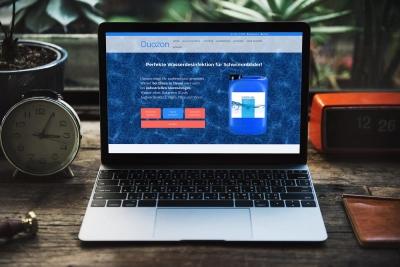 Webdesign von perfect:net: duozon.at