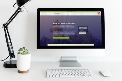 Webdesign Graz: perfect:net, wohnung-bewerten-graz.at