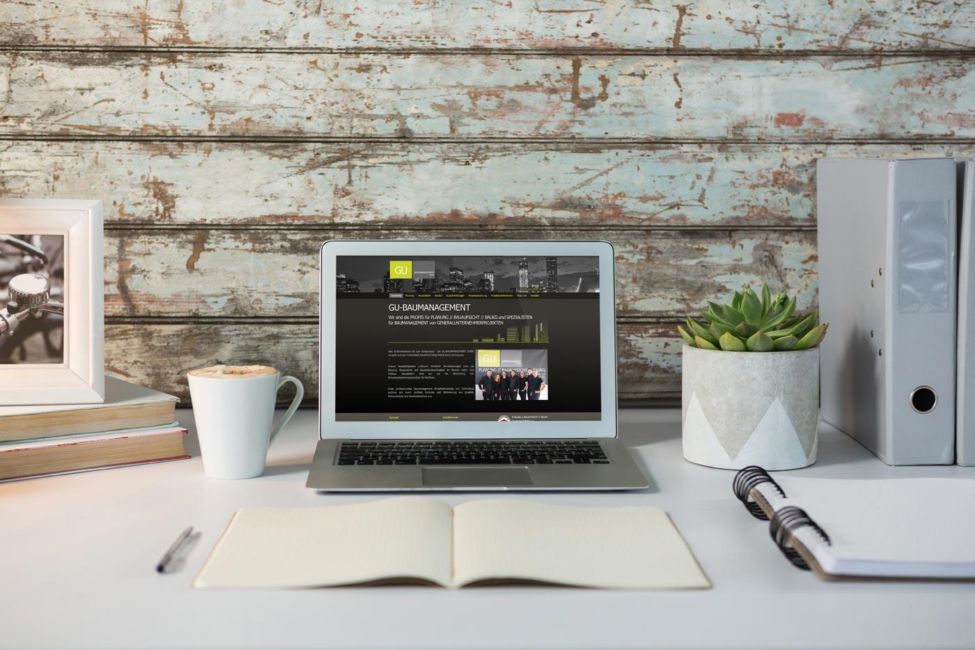 Webdesign von perfect:net, Dieter Biernat, gu-bm.at