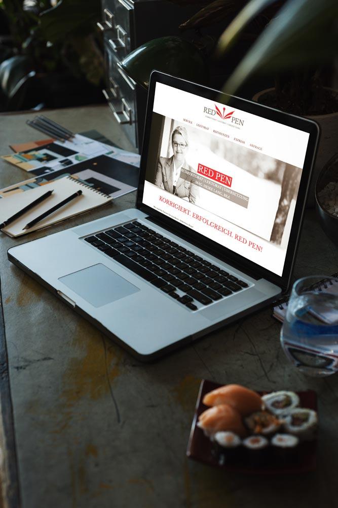 Webdesign Graz: perfect:net, redpen.at
