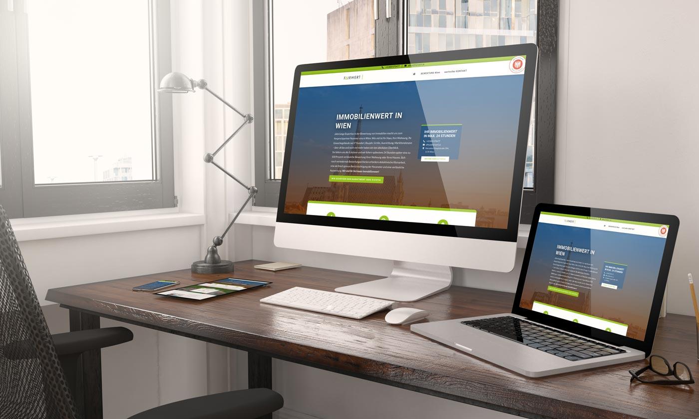 Webdesign Graz: perfect:net, wohnung-bewerten-wien.at